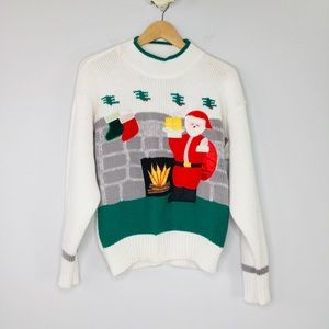 Vintage Spice of Life ugly Christmas sweater